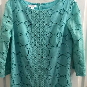 🥒London Times Turquoise Dress